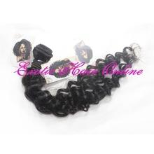 Exotichair black hair extensions one peice human hair extension