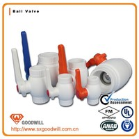 pipe fitting ppr ball valve