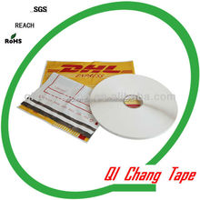 permanent sealing tape for HD / LD co-extruded mailing bag