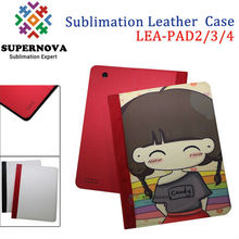 Sublimation Phone Cases Blanks Leather Flip Case for iPad