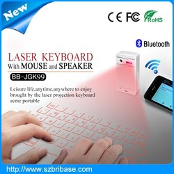 laser keyboard review laser QWERTY layout Projection keyboard cheap bluetooth wireless infrared laser keyboard