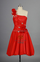 Real Model Taffeta Mini Cocktail Dress HMY-D117 Custom Made Bridemaid Dress