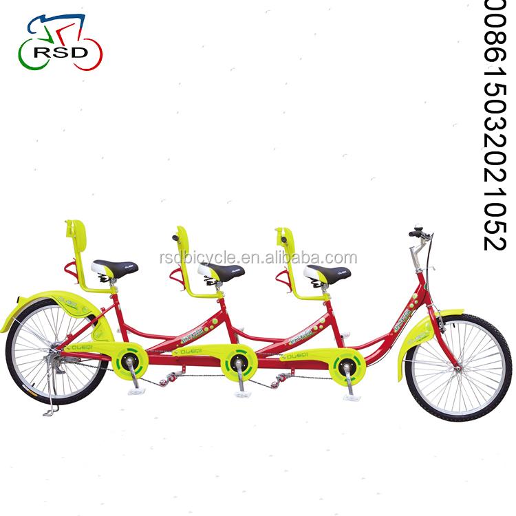 Gia đình bike tandem xe đạp cho tham quan/bãi biển tandem xe đạp/2018 new 1 2 3 4 5 người tandem xe đạp nằm nghiêng trike