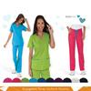 Hospital fashionable cotton scrubs uniform