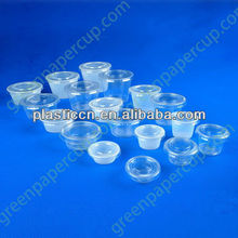 Disposable Plastic Jam Pot with Lid