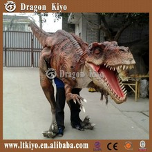 2015 The newest relistic life size dinosaur costume