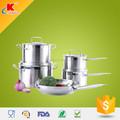 2015 quente personalizado 9 pcs magnética açoinoxidável utensíliosdecozinha