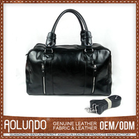 Low Price Custom Design Horse Leather Men Handbags