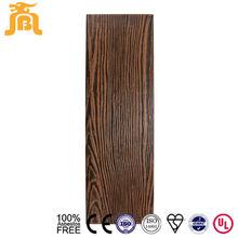 Wear Resistant High Strength Durable Wood Grain Fiber Cement Lap Siding Exterior Board