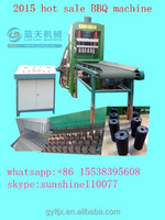Factory Direct Sale BBQ Machine In China/sawdust coal powdercharcoal powder making BBQ briquette machine