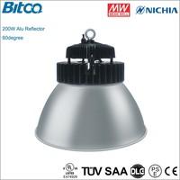 200W high bay lamp 20000lm ve may bay ve viet nam Nichia chip led industrial high bay lighting
