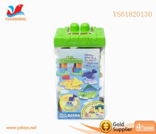 2015 New Products Large Toy Plastic Building Blocks For Kids Cartoon Animal Model Toy