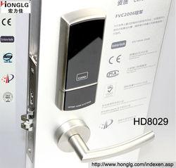 Swipe smart RF card lock for hotels and home