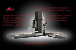 HHT CNC Horizontal boring milling machine tool