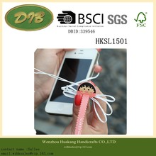 ear phone zip tie Color Reusable Thick Fastening Zip Velcro Cable Ties for Office Solution, House Storage, Organizing