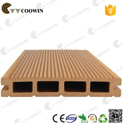 famous brand COOWIN Supplier 100% recyclable composite decking