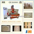 Sin-c25h em- linha do tipo de vácuo mesa de madeira de corte cnc serviço