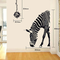 2015 Vinyl Fashion animal Walls paper Sticker