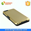 original golden color for iphone 6 plus 4800mAh for iphone 6 plus charger case wireless design solar power bank case