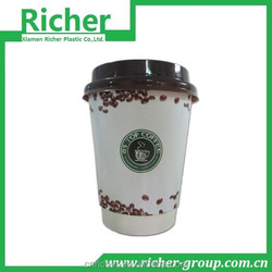 Colorful Disposable Paper Cup in Hand