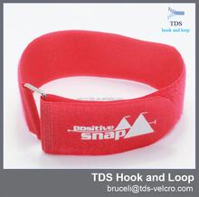 plastic buckle hook and loop strap adjustable elastic hook and loop buckle strap