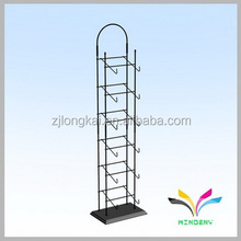 Supermarket supply metal socks fold clothes shelf for hanging items