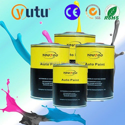 Advanced System Auto Refinishing Auto Body Restoration Car Paint Kit 2K Pure White Solid Colours