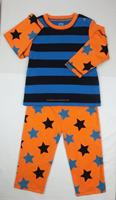 100% cotton long sleeve nightsuit, baby sleepsuit baby pajamas