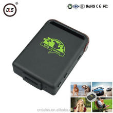Hot selling GPS/GSM/GPRS mini online software kid and dog gps tracker tk102