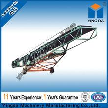 Handiness bulk cargo mobile belt handling system