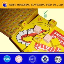 CLASSIC PACKING QWOK HALAL SHRIMP BOUILLON CUBE CREVETTE SEASONING CUBE STOCK CUBE (SUPPLY ALIBABA TRADE ASSURANCE)