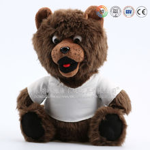 ICTI AUDIT EN71 ASTM standard customized/OEM custom cute plush toy stuffed toy cute plush raccoon family