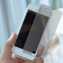 Wholesale cell phone accessories ultra clear anti-glare screen protector for iphone 5 5s screen film