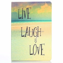 LIVE LAUGH LOVE Pattern Pattern Smart Cover Flip Leather Case with Holder for iPad Mini 3 / 2 / 1
