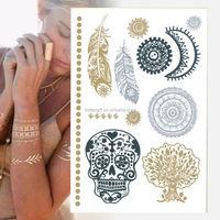 Temporary Tattoo Stencils Temporary Airbrush Tattoo Kit Starter Kit Indian Henna Tattoo Designs