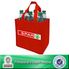 Lead Free Non Woven 6 Pack Water Bottle Bag