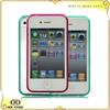 Transparent thin accessories mobile phone case for iPhone 4