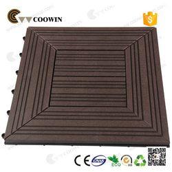 Designer branded pvc wpc vinyl floor tile