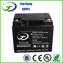 12V 42Ah 40Ah Lead Acid SLA VRLA Gel Solar PV UPS Battery