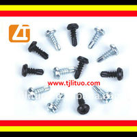 Pan framing head self drilling screw zinc/phosphate coating