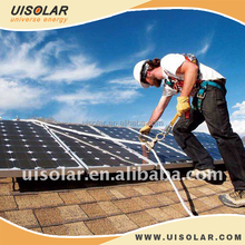 Household Application Solar Panel System Metal roof Kits Solution
