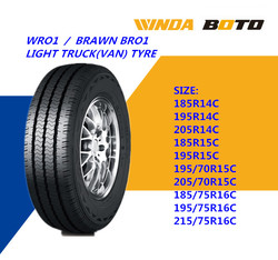 Discounted Light Truck Tyre 185/75R16C with DOT