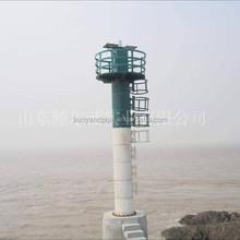 10 meters green/white pe lighthouse /light beacon/light tower