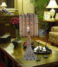 8years Factory metal table lamp for Hotel Usage