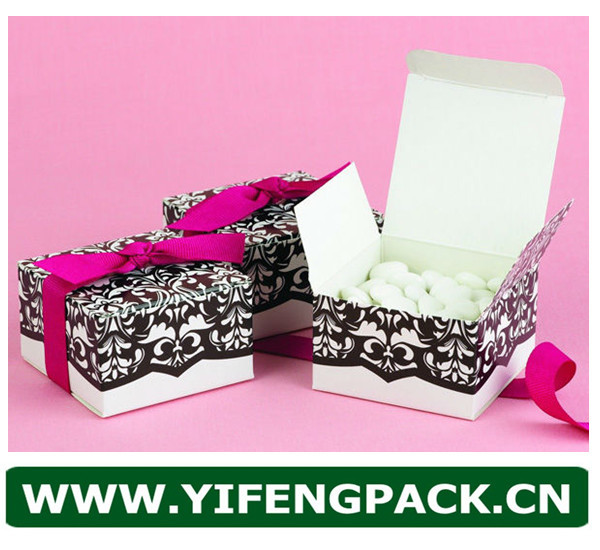Made In China Hot-Sale Eco-Friendly Recycle Custom LOGO Printed Foldable Paper Candy Box