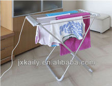 Folding heated clothes hangers clothes airers/airer