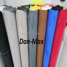 Super soft waterproof Alcantara Suede fabric velvet black textured vinyl rolls