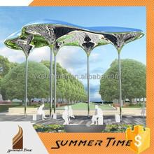 outdoor big umbrella sculpture