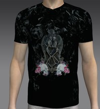 High quality 100% Pure Cotton sublimation printing oem Short sleeve bulk wholesale t shirts