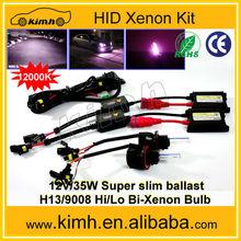 Made In China AC 12V 55W Slim Ballast Single Bulb Xenon Hid Kit